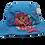 Mermaid Bucket Hat by Stephen Joseph