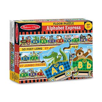 27 Piece Melissa & Doug Alphabet Express Floor Puzzle