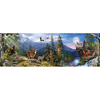 1000 Piece RealTree Panoramic Jigsaw Puzzle by MasterPieces