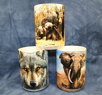 Ceramic Animal Coffee Cups/Mugs by The Mountain
