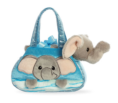 Fancy Pals Elephant Peek-A-Boo Purse