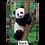 Panda Armored Wallet by Monarque
