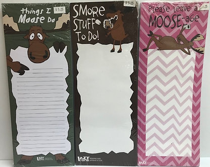 Lazy One Magnetic Notepads - Moose