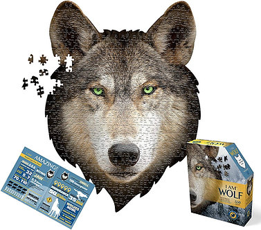550 Piece I Am Wolf Jigsaw Puzzle by Madd Capp Puzzles