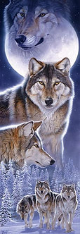 "500 Piece Wolf Jigsaw Puzzle by SunsOut ""Spirits"""