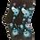 Foozy's Peacock Socks
