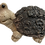 """Turtle with """"Tree Bark"""" Shell Figurine by Gerson"""