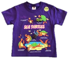 Sea Turtle Snap-On T-Shirt by WildThings