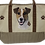 Jack Russell Dog Canvas Tote Bag, by E&S Pets