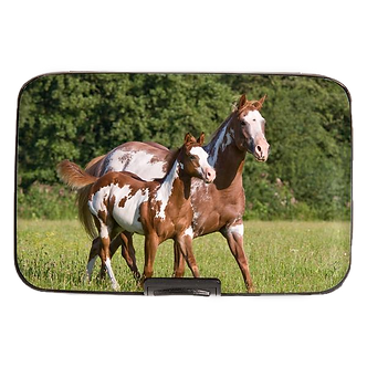 Paint Horse Armored Wallet by Monarque