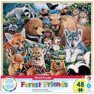 48 Piece Forest Friends Jigsaw Puzzle by MasterPieces