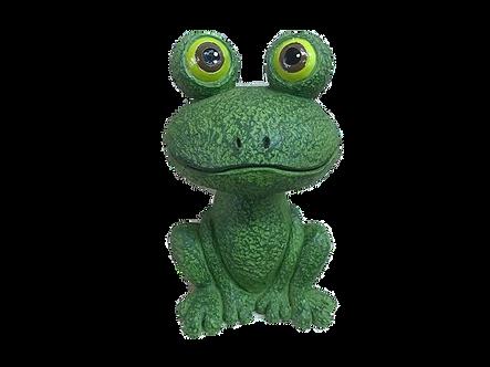 Frog with Big Eyes Figurine by Ganz