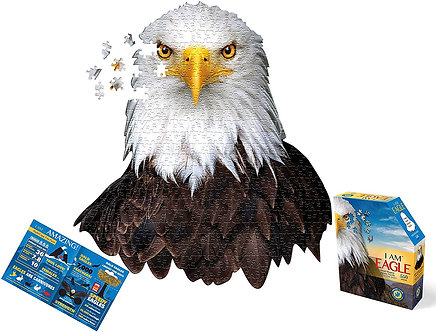 550 Piece I Am Eagle Jigsaw Puzzle by Madd Capp Puzzles