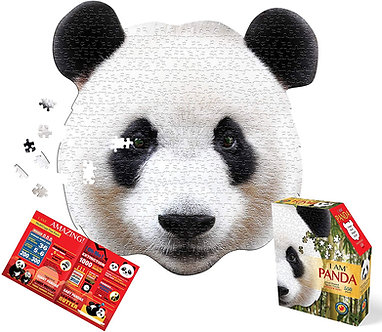 550 Piece I Am Panda Jigsaw Puzzle by Madd Capp Puzzles