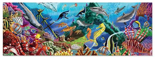 200 Piece Melissa & Doug Underwater Oasis Floor Puzzle