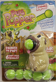 Pug Dog Popper Toy by Hog Wild Toys