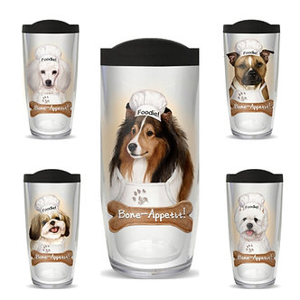 Dog Breed Thermal Insulated Tumbler Cups