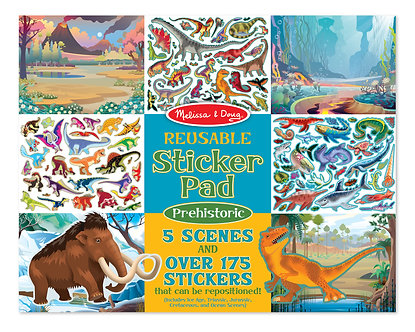 Melissa & Doug Prehistoric Dinosaur Reusable Sticker Activity Pad
