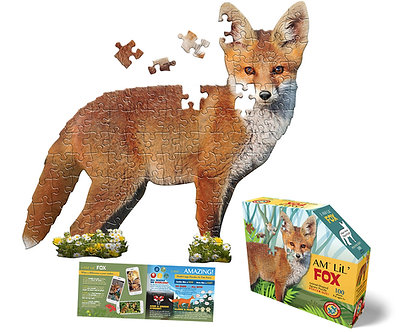100 Piece I Am Lil' Fox Jigsaw Puzzle by Madd Capp Puzzles