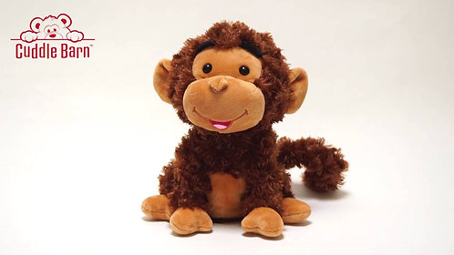 Animated Crackin' Up Coco Monkey by Cuddle Barn