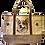 Corgi Dog Canvas Tote Bag, by E&S Pets