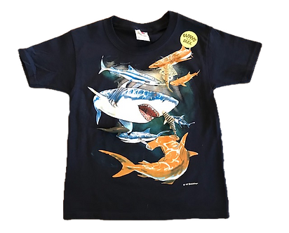 Shark Snap-On T-Shirt by WildThings