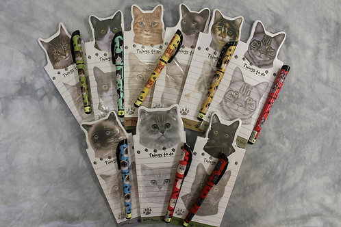 Magnetic Cat Notepads