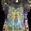 Beaded Peacock Shirt by Sweet Gisele