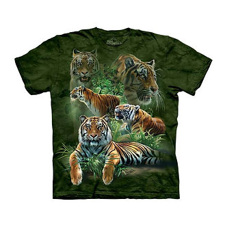 """Jungle Tigers"" Youth T-Shirt by The Mountain"