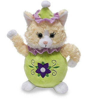 Singing, Animated Miss Kit-Tea Kitten by Cuddle Barn