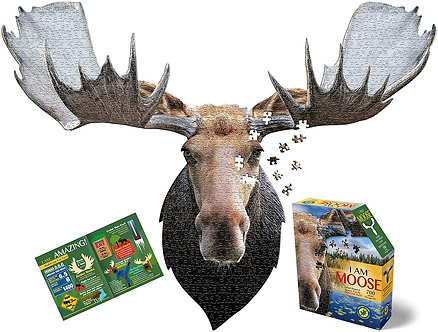 700 Piece I Am Moose Jigsaw Puzzle by Madd Capp Puzzles