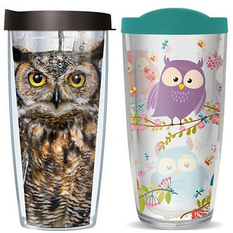 Owl Thermal Insulated Tumbler Cups