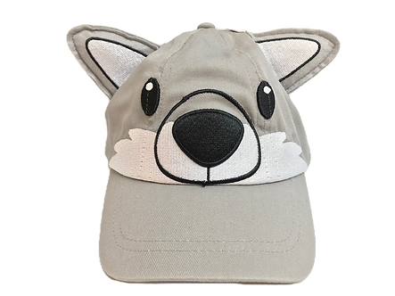 Wolf 3D Baseball Hat by Stephen Joseph