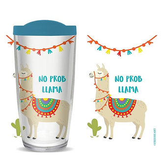 Llama Thermal Insulated Tumbler Cups