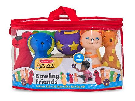 Melissa & Doug K's Kids Bowling Friends