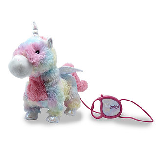Animated Enchanted Pets Starlight the Unicorn by Cuddle Barn