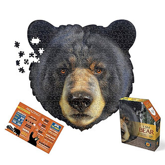 550 Piece I Am Bear Jigsaw Puzzle by Madd Capp Puzzles