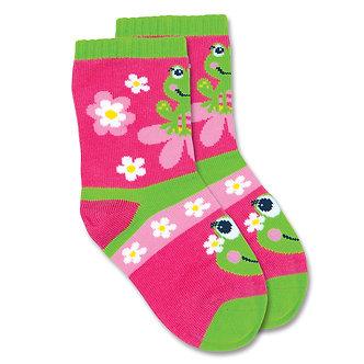 Frog Toddler Socks by Stephen Joseph