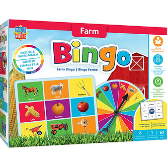 Farm Bingo Game by MasterPieces