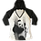 Panda Baseball Jersey Hoodie Shirt by Sweet Gisele
