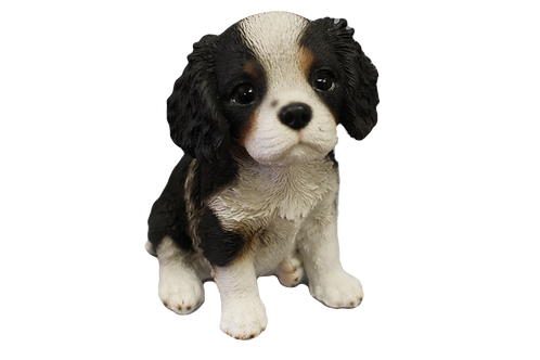 King Charles CavalierPuppy DogFigurine