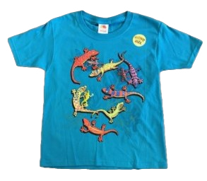 Lizard Snap-On T-Shirt by WildThings
