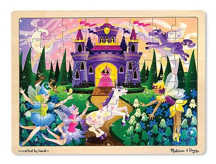 48 Piece Melissa & Doug Fairy Fantasy Wooden Jigsaw Puzzle