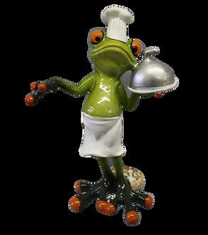 """Chef"" Tree Frog Figurine"
