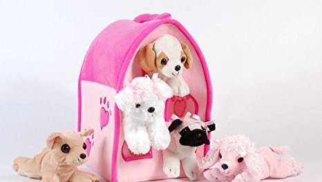 Dog Pink Animal House by Unipak