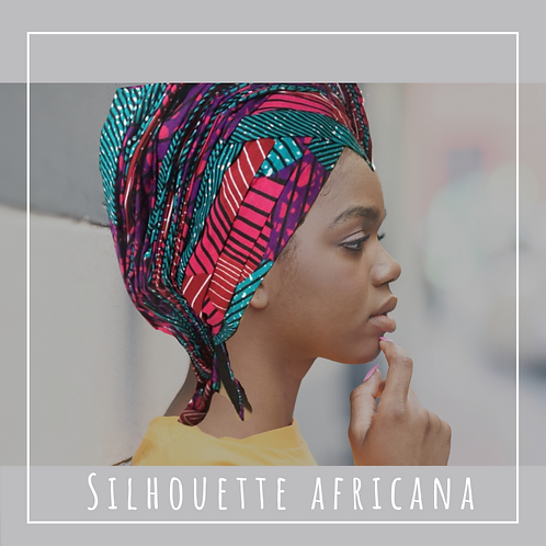 Pre-Tied Headwrap and Matching 6 yards of Fabric