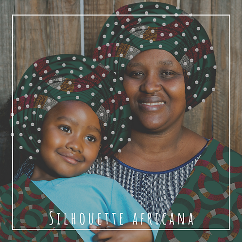 Mommy and Me Extra Large Beaded Headwraps
