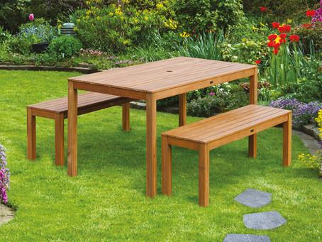 Manutenzione mobili da giardino