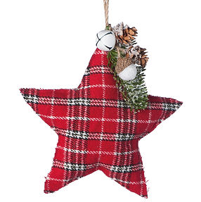 stella appendibile scozzese Natale 2020.