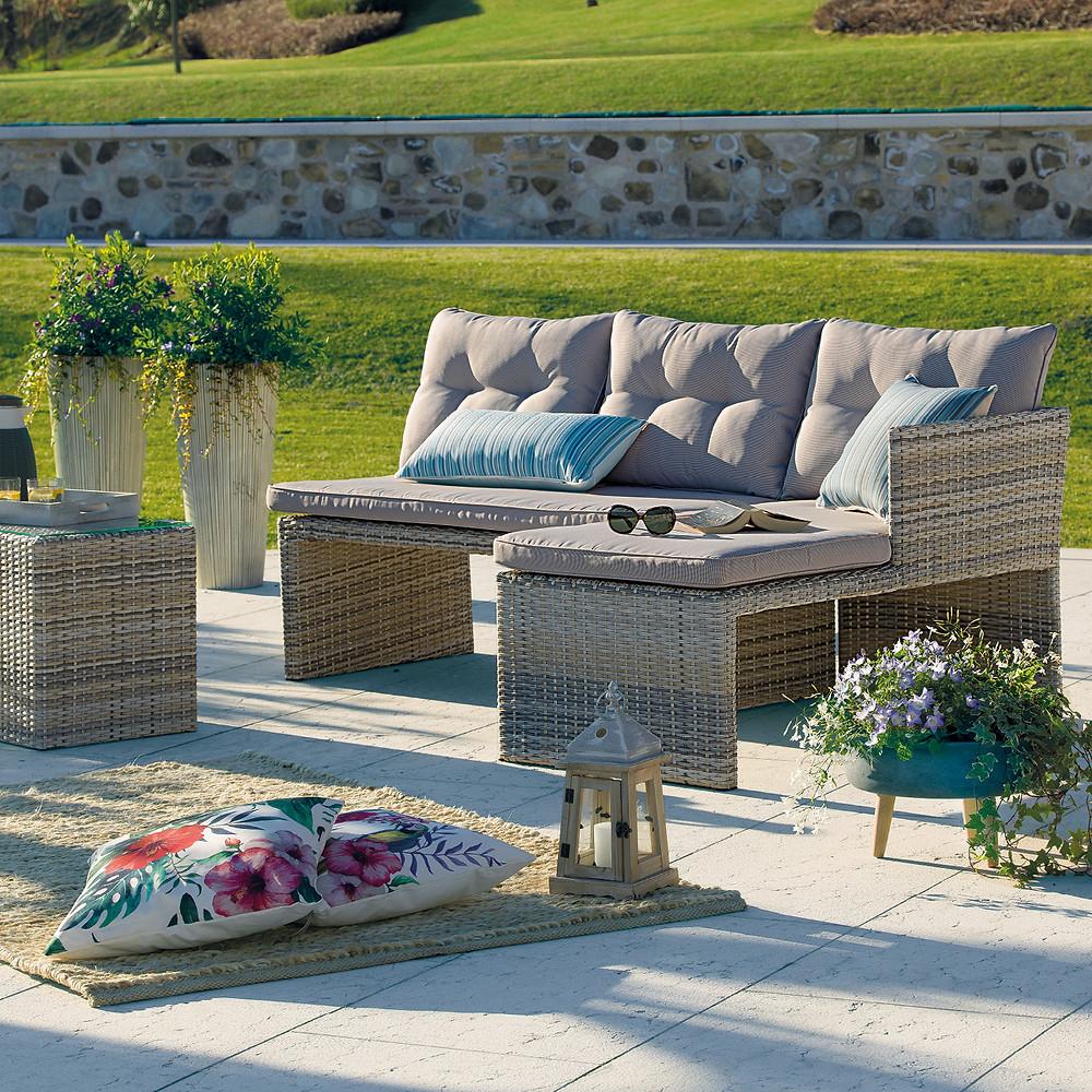 Manutenzione mobili da giardino tessuti